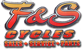 F & S Cycles logo